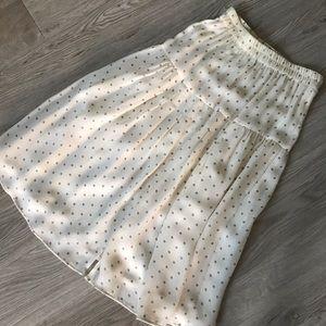 Silk Polka Dot Vintage Style Skirt and Top